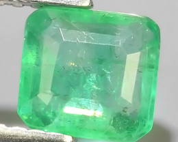 1.00 CTS~EXCELLENT~NATURAL EMERALD ~OCTAGON~NICE QUALITY GOOD COLOR~