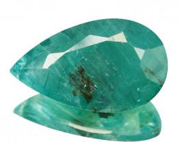 ~RARE~ 7.97 Cts Natural Bluish Green Grandidierite Pear Cut Madagascar