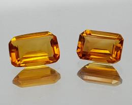 1.29Crt Madeira Citrine Natural Gemstones JI21