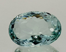 3.65Crt Natural Aquamarine  Natural Gemstones JI21