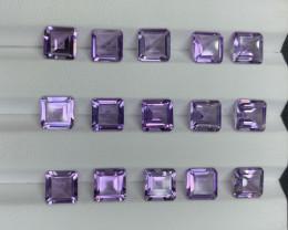 20.82 CT Amethyst Gemstones parcel