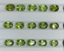 19.11 ct Peridot Gemstones parcel