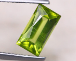 1.50ct Natural Green Peridot Fancy Octagon Cut Lot D441