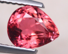 1.36ct Natural Pink Tourmaline Pear Cut Lot D430