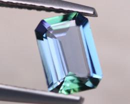 1.06ct Natural Violet Blue Tanzanite Octagon Cut Lot V8150