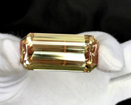 165 Carats Natural Peach Color Kunzite Gemstone