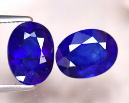 Ceylon Sapphire 5.15Ct 2Pcs Royal Blue Sapphire DF1517/A23