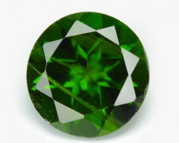 Chrome Diopside 0.95 Cts Natural Green Color Loose Gemstone