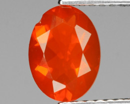 0.80 Cts Very Rare Unheated Mexican Fire Opal Loose Gemstone