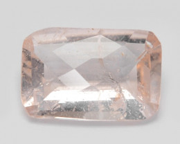 2.74 Cts Amazing Rare Natural Pink Color Morganite Gemstone