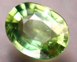 Apatite 1.74Ct Natural Paraiba Green Color Apatite E1601/B44