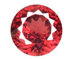 1.30 Cts Unheated Natural Cherry Pinkish Red Rhodolite Garnet Gemstone