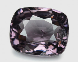 1.01 Cts Un Heated Very Rare Purple Pink Color Natural Spinel Gemstone