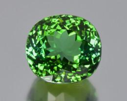 4.05 Cts Fabulous Beautiful Color Natural Green Tourmaline