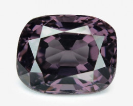 1.54  Cts Un Heated Very Rare Purple Color Natural Spinel Gemstone