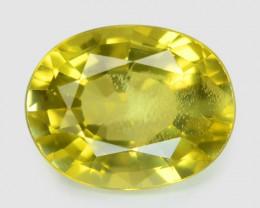 1.19 Cts Very Rare Yellowish Green Color Natural Chrysoberyl Gemstones