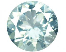 0.89 Cts Un Heated  Blue  Natural Aquamarine Loose Gemstone
