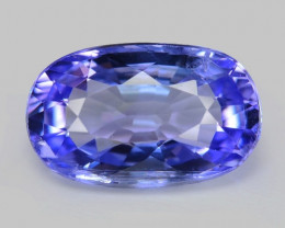 1.06 Cts Amazing rare AA Violet Blue Color Natural Tanzanite Gemstone