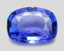 0.58 Cts 6.3x4.9mm Violet Blue Color Natural Tanzanite Gemstone