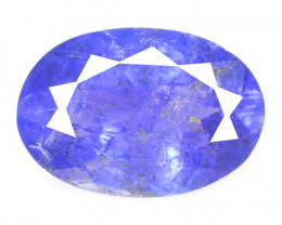 1.73 Cts Amazing rare Violet Blue Color Natural Tanzanite Gemstone