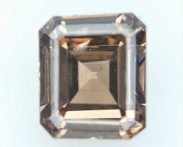 0.55 CT , Rarest Rectangle Diamond , Brown Colored Diamond