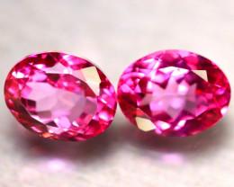 Pink Topaz 17.93Ct 2Pcs Natural IF Pink Topaz DR457/A35