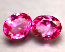 Pink Topaz 14.13Ct 2Pcs Natural IF Pink Topaz DR458/A35