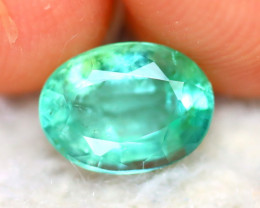 Emerald 1.28Ct Natural Zambia Green Emerald DR471/A33