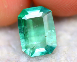 Emerald 1.00Ct Natural Zambia Green Emerald DR472/A33