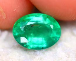 Emerald 1.02Ct Natural Zambia Green Emerald DR473/A33