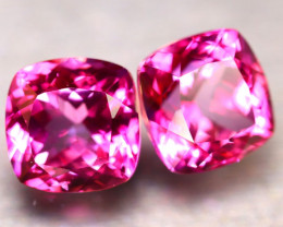 Pink Topaz 19.30Ct 2Pcs Natural IF Pink Topaz ER360/A35