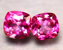 Pink Topaz 15.17Ct 2Pcs Natural IF Pink Topaz ER362/A35