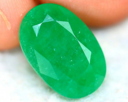 Emerald 4.92Ct Natural Zambia Green Emerald ER364/A37