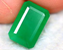 Emerald 4.04Ct Natural Zambia Green Emerald ER365/A37