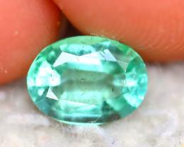 Emerald 1.03Ct Natural Zambia Green Emerald ER369/A33