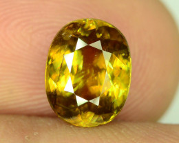Rare AAA Fire 2.45 ct Sphene for jewelry