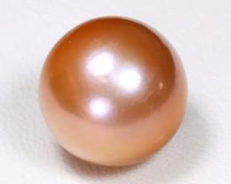 South Sea Pearl 11.8mm Natural Australian Pink Salt Water Pearl B327