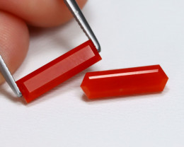 Red Coral 2.32Ct Fancy Cut Natural Untreated Italian  Red Coral AB343