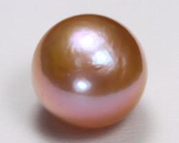 South Sea Pearl 11.9mm Natural Australian Pink Salt Water Pearl B306