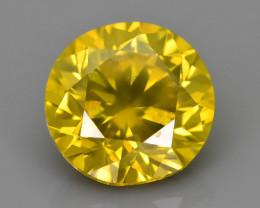 Yellow Diamond 1.60 ct Top Grade Brilliance SKU-25