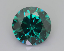 Green Diamond 1.51 ct Top Grade Brilliance SKU-25