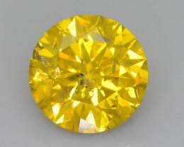 Yellow Diamond 1.10 ct Top Grade Brilliance SKU-25