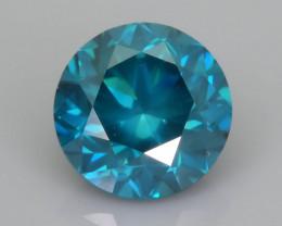 Blue Diamond 0.99 ct Top Grade Brilliance SKU-25
