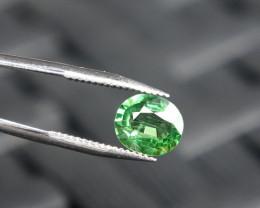 Tsavorite - Green - 0.74ct Cert -