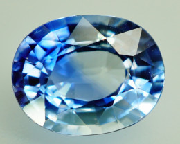 1.14 ct  Natural Earth Mined Blue Sapphire Sri lanka - ALGT Certificate