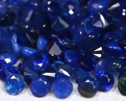 Blue Sapphire 1.57Ct Calibrate 1.1mm Natural Blue Sapphire Lot B355