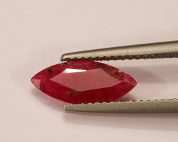 **No Reserve** 1.58ct Marquise-Cut Ruby
