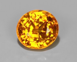 ~Excellent Natural Intense Beautiful Orange Yellow Sapphire Excellent~