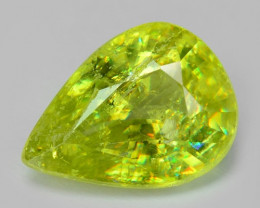 NATURAL SPHENE WITH DRAMATIC FIRE AFGHANISTAN SH2