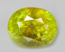 1.02 CT SPHENE WITH DRAMATIC FIRE AFGHANISTAN SH6